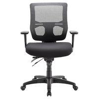 Eurotech MFST5455 Apollo II Series Black Mid Back Multi-Function Swivel Office Chair