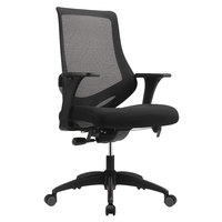 Eurotech MF2000BLK Astra Series Black Mid Back Swivel Office Chair