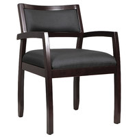 Eurotech WGFEX Cypress Series Espresso Arm Chair
