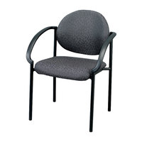 Eurotech 9011-H5511 Dakota Series Charcoal Curved Arm Chair