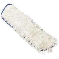 Rubbermaid FGQ80500WH00 Flow Blue / White 19 11/16 inch Nylon Mop Pad