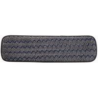 Rubbermaid 1863895 Pulse Executive 18 inch Gray Microfiber Wet Mop Pad