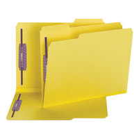 Smead 14939 SafeSHIELD Letter Size Fastener Folder with 2 Fasteners - 25/Box