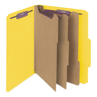 Smead 14098 SafeSHIELD Letter Size Classification Folder - 10/Box