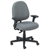 Eurotech FT2700 Cypher Series Grey Mid Back Swivel Office Chair