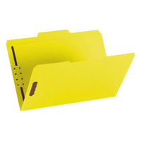 Smead 17940 Legal Size Fastener Folder with 2 Fasteners - 50/Box