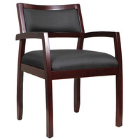 Eurotech WGFMAH Cypress Series Mahogany Arm Chair