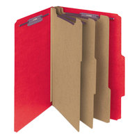 Smead 14095 SafeSHIELD Letter Size Classification Folder - 10/Box