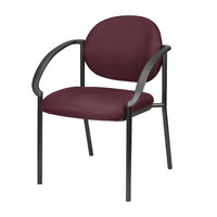 Eurotech 9011-AT31 Dakota Series Burgundy Curved Arm Chair