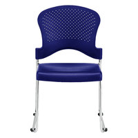 Eurotech S3000 Aire Series Navy Plastic Chair