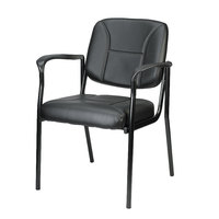 Eurotech VS8012 Dakota Series Black Vinyl Arm Chair