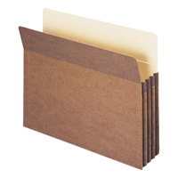 Smead 73205 Letter Size 100% Recycled File Pocket - 25/Box