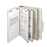 Smead 14091 SafeSHIELD Letter Size Classification Folder - 10/Box