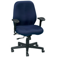 Eurotech FM5505-AT30 Aviator Series Navy Mid Back Swivel Office Chair