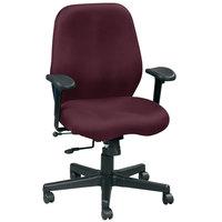 Eurotech FM5505-AT31 Aviator Series Burgundy Mid Back Swivel Office Chair