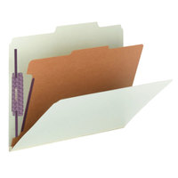 Smead 13776 SafeSHIELD Letter Size Classification Folder - 10/Box