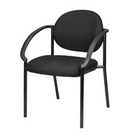 Eurotech 9011-AT33 Dakota Series Black Curved Arm Chair