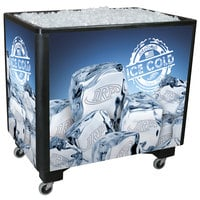 IRP Black Ice Saver 060 Mobile 100 Qt. Frost Box with Casters