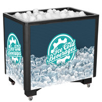 IRP Black Ice Saver 3501544 Mobile 100 Qt. Frost Box with Casters