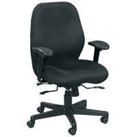 Eurotech MM5506 Aviator Series Black Mesh Mid Back Swivel Office Chair