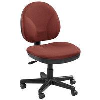 Eurotech OSS400-H12 OSS Series Crimson Fabric Mid Back Swivel Office Chair