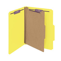 Smead 13734 SafeSHIELD Letter Size Classification Folder - 10/Box