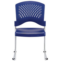 Eurotech S4000 Aire Series Navy Plastic Chair