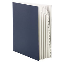 Smead 89294 Letter Size 31-Pocket Desk File/Sorter - 1-31 Indexed, Navy Blue