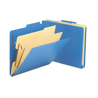 Smead 14045 Poly Letter Size Classification Folder - 10/Box