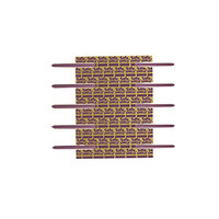 Smead 68216 SafeSHIELD 2 3/4 inch Purple Fastener with 2 inch Capacity - 50/Box