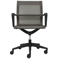 Eurotech MT301A Kinetic Series Charcoal Mid Back Swivel Office Chair