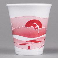 Dart 8LX8H 8 oz. Horizon Foam Cup - 1000/Case