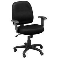 Eurotech FT5241-AT33 Newport Series Black Mid Back Swivel Office Chair