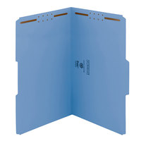 Smead 17040 Legal Size Fastener Folder with 2 Fasteners - 50/Box
