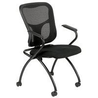 Eurotech NT5000-5806 Flip Series Black Office Chair with Arms