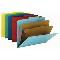Smead 14025 SafeSHIELD Letter Size Classification Folder - 10/Box