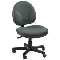 Eurotech OSS400-H11 OSS Series Pewter Fabric Mid Back Swivel Office Chair