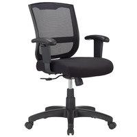 Eurotech MT4500 Maze Series Black Mid Back Swivel Office Chair