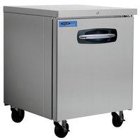 Nor-Lake NLUR27A-015 AdvantEDGE 27 1/2 inch Undercounter Refrigerator with Door Lock - 7.2 Cu. Ft.