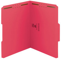 Smead 12740 Letter Size Fastener Folder with 2 Fasteners - 50/Box