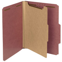 Smead 13724 100% Recycled Heavyweight Letter Size Classification Folder   - 10/Box