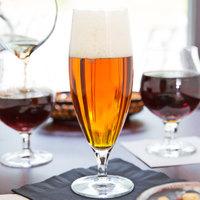 Master's Reserve 9175 Circa 16 oz. Customizable Stemmed Pilsner Glass - 12/Case