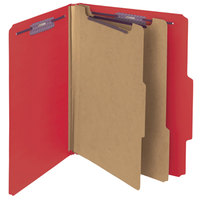 Smead 14031 SafeSHIELD Letter Size Classification Folder - 10/Box
