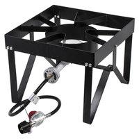 Backyard Pro Square Single Burner Outdoor Patio Stove / Range - 55,000 BTU