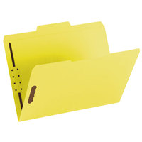 Smead 12940 Letter Size Fastener Folder with 2 Fasteners - 50/Box
