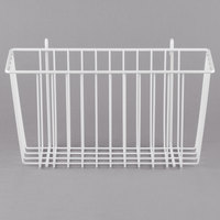 Metro H209W White Storage Basket for Wire Shelving 13 3/8 inch x 5 inch x 7 inch
