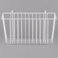 Metro H209W White Storage Basket for Wire Shelving 13 3/8 inch x 5 inch x 7 inch