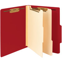 Smead 14003 Heavyweight Letter Size Classification Folder - 10/Box