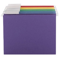 Smead 64020 Letter Size Hanging File Folder - 25/Box