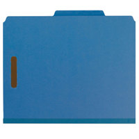 Smead 14062 100% Recycled Heavyweight Letter Size Classification Folder - 10/Box